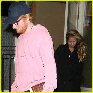 Ed Sheeran & Cherry Seaborn Have Sushi Date Night