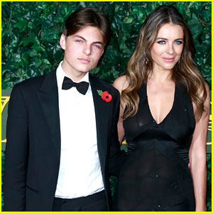 Elizabeth Hurley's Son Damian Stars in Debut Makeup Campaign! (Video)