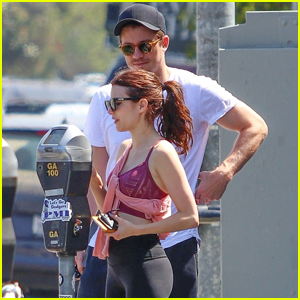 Emma Roberts & Garrett Hedlund Couple Up For Gym Session