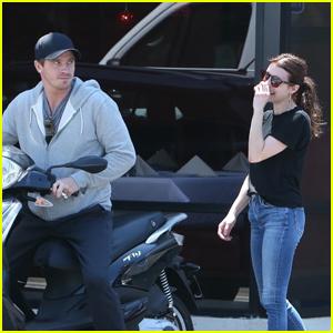 Emma Roberts Shares a Laugh with Boyfriend Garrett Hedlund in LA!