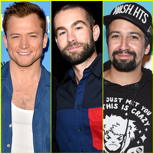 Taron Egerton, Chace Crawford & Lin-Manuel Miranda Attend Entertainment Weekly's Comic-Con Bash 2019