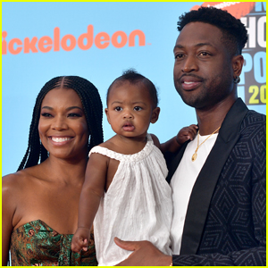 Gabrielle Union & Dwyane Wade Attend Kids' Choice Sports Awards with Daughter Kaavia!