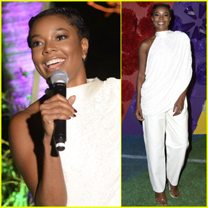 Gabrielle Union Surprises Fans at 'Bring It On' Screening at Hollywood Forever Cemetery!