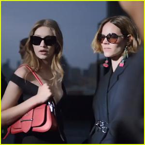 Gigi Hadid Stars In Prada's New Fashion Campaign Film - Watch!