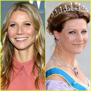Gwyneth Paltrow's New Friend is a Royal: Princess Märtha Louise!