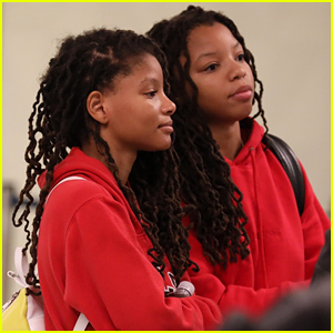 Halle Bailey Returns To LA With Family After Weekend in New Orleans