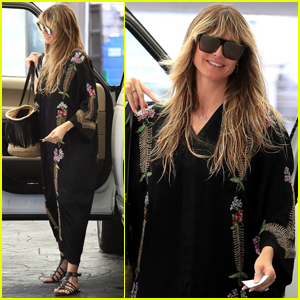 Heidi Klum Shows Off Her Wedding Ring After Secretly Getting Married