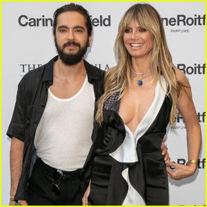 Heidi Klum & Tom Kaulitz Have a Date Night at Carine Roitfeld Cocktail Party