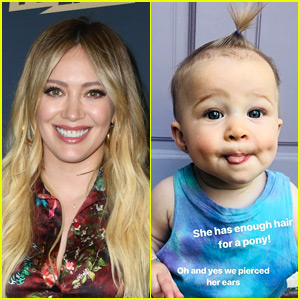 Hilary Duff Posts Adorable Photo of Baby Banks with Newly Pierced Ears!