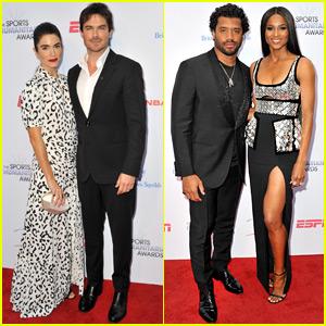 Nikki Reed & Ciara Accompany Their Hot Husbands to Sports Humanitarian Awards!