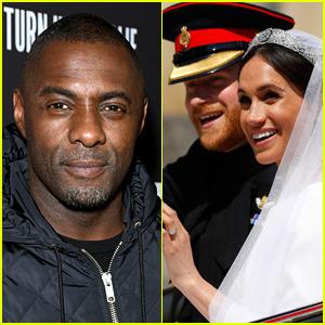 Meghan Markle Gave Idris Elba a Set List Before He DJ'd the Royal Wedding!
