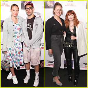 Jack Antonoff & Girlfriend Carlotta Kohl Make Red Carpet Debut at Jacqueline Novak Opening Night!