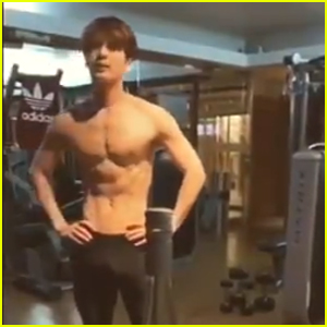 K-Pop Star Jackson Surprises Fans With Hot Shirtless Bottle Cap Challenge Video - Watch!
