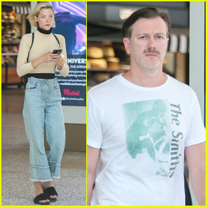 Jaime King & Husband Kyle Newman Step Out for Lunch in L.A.