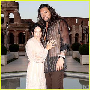 Jason Momoa Joins Wife Lisa Bonet at Fendi Show in Rome!