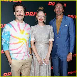 Jason Sudeikis, Judy Greer, & Lee Pace Premiere 'Driven' in Hollywood