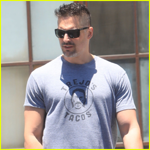Joe Manganiello Shows Off His Buff Biceps While Out in WeHo!