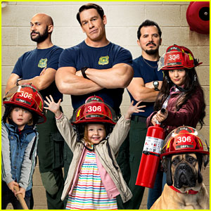 John Cena is a Babysitting Firefighter in 'Playing With Fire' Trailer - Watch Now!