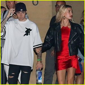 Justin Bieber & Wife Hailey Enjoy a Sushi Date Night in Malibu