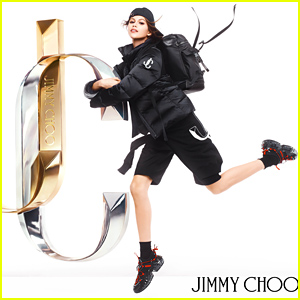 Kaia Gerber Is Back For Her Second Campaign With Jimmy Choo
