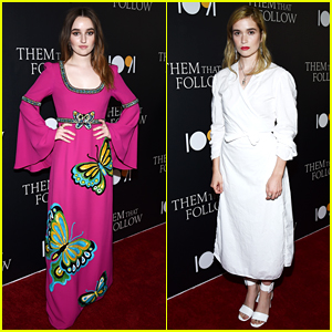 Kaitlyn Dever & Alice Englert Premiere 'Them That Follow' in L.A.