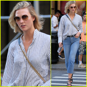 Karlie Kloss Keeps Things Casual While Running Errands in NYC