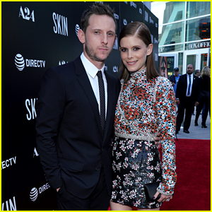 Kate Mara Supports Husband Jamie Bell at 'Skin' Premiere!