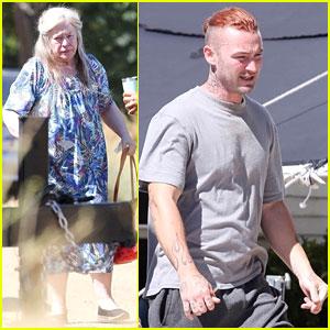 Kathy Bates & Jake McLaughlin Start Filming New Movie 'Home!'