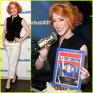 Kathy Griffin Promotes New Movie with a Busy NYC Press Day