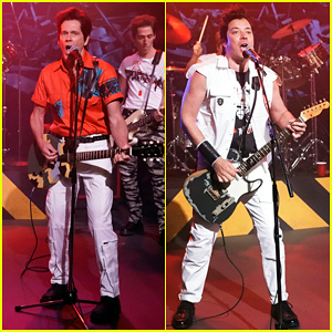 Kevin Bacon & Jimmy Fallon Perform Hilarious Clash 'Should I Stay or Should I Go' Cover - Watch Here!