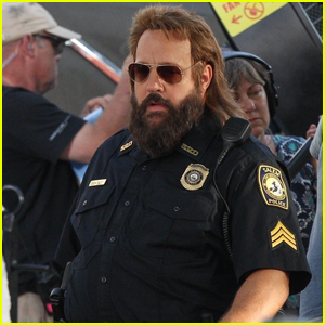 Kevin James is Unrecognizable on Set of New Movie 'Hubie Halloween'