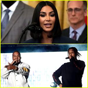Kim Kardashian Says Trump Is Helping to Free A$AP Rocky