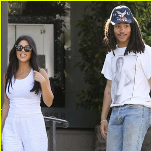 Kourtney Kardashian & Luka Sabbat Grab Smoothies in WeHo