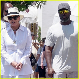 Kris Jenner Vacations with Boyfriend Corey Gamble in Italy!