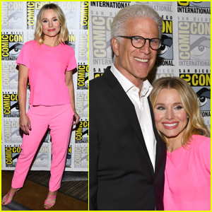 Kristen Bell & Ted Danson Promote Final Season of 'The Good Place' at Comic-Con 2019