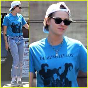 Kristen Stewart Has Lunch in LA After Romantic Italy Trip With Stella Maxwell