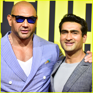 Kumail Nanjiani & Dave Bautista Buddy Up at 'Stuber' Premiere