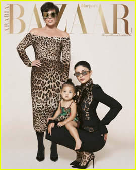 Kylie Jenner's Daughter Stormi Makes Magazine Cover Debut in Harper's Bazaar Arabia