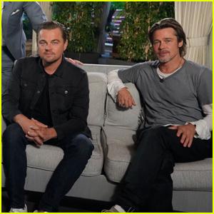 Leonardo DiCaprio & Brad Pitt Talk Both Starting Off on 'Growing Pains' - Watch Now!