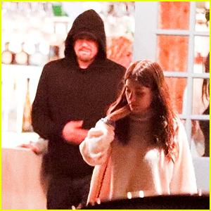 Leonardo DiCaprio & Girlfriend Camila Morrone Enjoy a Late Night 4th of July Dinner in Malibu