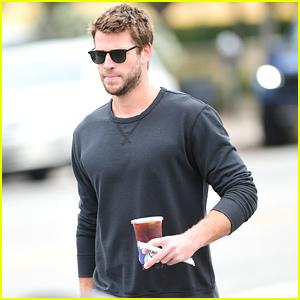 Liam Hemsworth Goes on a Coffee Run in LA