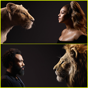 Beyonce Stuns In New Pic With 'Lion King' Character Nala