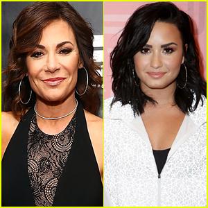 Luann de Lesseps Says Demi Lovato Is Inspiring Her Sobriety Journey - Watch!