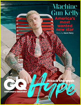 Machine Gun Kelly Talks Hooking Up in the Back of a Police Car & Which Drug He'd Never Do Again