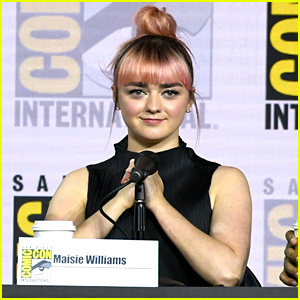 Maisie Williams Shuts Down a Sexist 'Game of Thrones' Theory During Comic-Con Panel