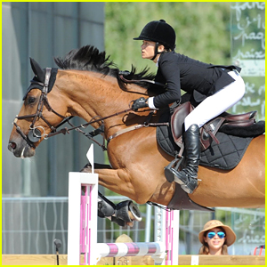 Mary-Kate Olsen Shows Off Her Impressive Horseback Riding Skills While Competing in Paris!