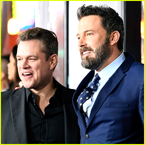 Matt Damon & Ben Affleck Will Star in a New Movie Together, Which They Also Co-Wrote