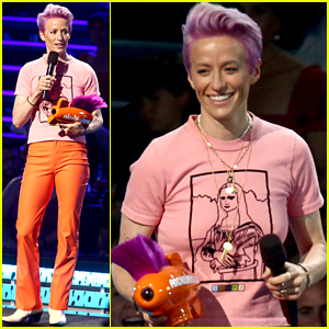 Soccer Star Megan Rapinoe Gets Special Honor at Kids' Choice Sports Awards 2019!