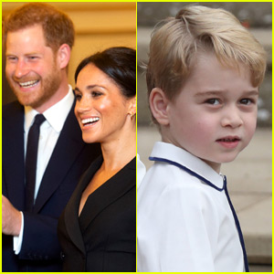 Meghan Markle & Prince Harry Leave Comment on Prince George's Birthday Post...But Not Without Controversy