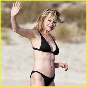 Melanie Griffith, 61, Shows Off Her Toned Physique in a Bikini!